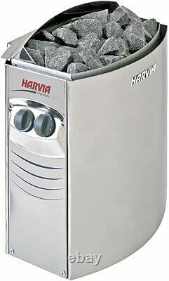 220cm Outdoor Garden Barrel Sauna with Harvia Electric / Wood Fired heater