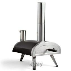 60 Seconds Pizza Italiano Portable Wood-Fired Outdoor Pizza Oven