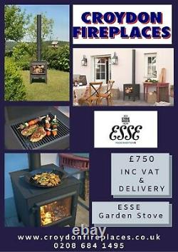 Esse Garden Cooking Stove & Outdoor Fire Pit Grill (May Stock Next Day Delivery)