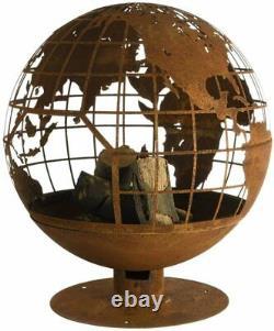 Fallen Fruits Globe Fire Pit World Globe design