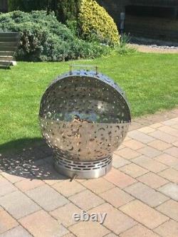 Garden FirePit Ball FireGlobe Outdoor Patio/ Wood Burner Fire Pit