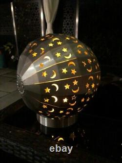 Globe Stainless Steel Fire Pit -Outdoor Patio/ Wood Burner