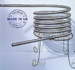 Hot tub heater coil wood-fired stand or fireholder outdoor pool, water