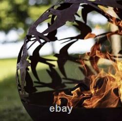 La Hacienda Swallow Globe Fire Pit / Patio Heater Log Burner
