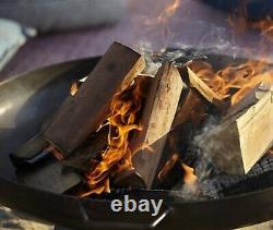 Large Fire Pit Manitan NDD (Log Burner BBQ Chimenea Patio Heater Chiminea Tall)