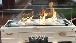 Modern Table Top Patio Gas Fire Stove / Pit