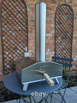 OONI 3 Wood Fired Outdoor Pizza Oven with Baking Stone, Peel, Pellets and Cover