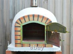 Outdoor Brick Wood Fired Pizza Oven 70cm Prestige