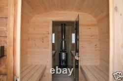 Outdoor Sauna for Garden Wooden Wood Fired Sauna Finnish, better than barrel