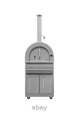 Pro-style 6-piece Outdoor Kitchen, grill, hobs, cooler, woodfired pizza oven