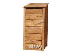 Single Bay 6ft Wooden Outdoor Log Store, Fire Wood Storage Clearance Range