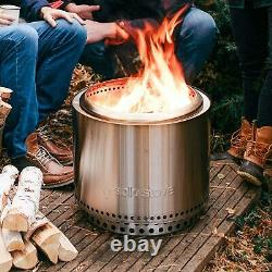 Solo Stove Bonfire Garden Fire Pit Firepit With Stand & Carry Bag