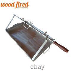 Spit roast rotisserie tray kit for 90cm or 100cm outdoor wood fired Pizza oven