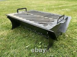 The 610 Fire Pit Bbq Log Burner Outdoor Seating Fire Show Display Floor Camping