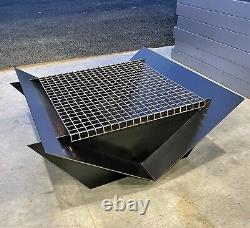 The Brooklyn Fire Pit Outdoor Garden With Mesh Grill