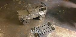The Landy Fire Pit (free wheeling) HOT Plate CNC plasma BBQ camping outdoor