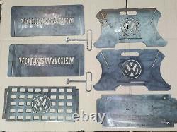 VW Flat Pack Fire Pit & Grill (BBQ)