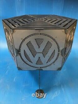 Vw camper hexagonal fire pit with grill
