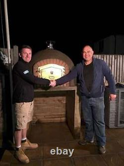 WOOD FIRED OUTDOOR PORTUGUESE PIZZA BREAD OVEN 1000mm AMIGO OVENS UK BUILT