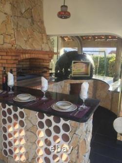 Wood Fired Brick Pizza Bread Outdoor Oven Premium Range Amigo Ovens