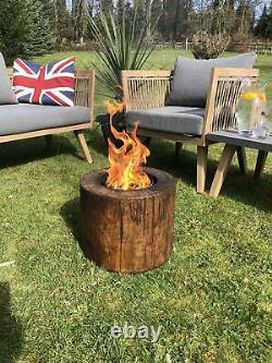 Wood Firepiit Garden Heater Smokeless Crop Candle hotter than Gas fire pits