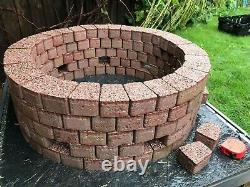 65 CM Intérieur Fire Pit Granite Béton Fireplace Dalle Cooper Diy Garden Patio