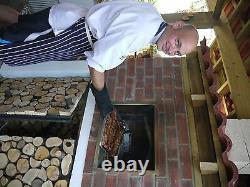 Bois D'extérieur Portugueuse Pizza Fread Oven 1000mm Amigo Ovens Uk Built
