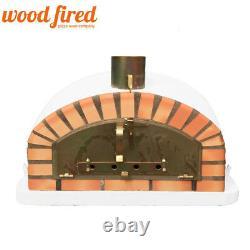 Brique Au Bois Extérieur Cuit Four À Pizza 100cm X 100cm Modèle Italien