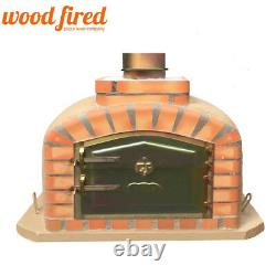 Brique Au Bois Extérieur Cuit Four À Pizza 90cm Modèle Exclusif De Sable