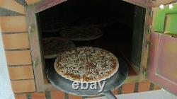 Brique En Bois D'extérieur Four Pizza 90cm Black Deluxe Modèle (offre De Paquet)