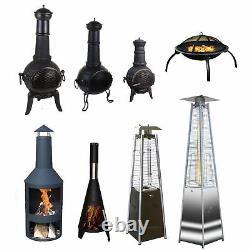 Brûleurs Extérieurs De Chauffe-gaz De Cheminée De Patio De Jardin Extérieur