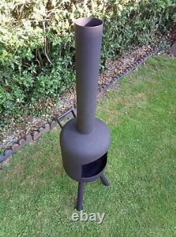 Chimenea Log Burner Patio Heater Garden Bbq Fire Pit