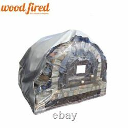 Couvercle Protecteur Avec Fenêtre Pour 90cm Ou 100cm Four À Pizza Au Feu De Bois Extérieur