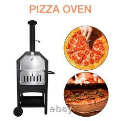 Cuiseur Portatif En Acier De Barbecue En Acier De Four À Pizza Extérieur