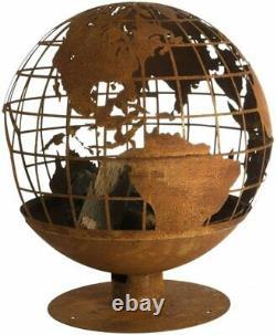 Design Fallen Fruits Globe Fire Pit World Globe