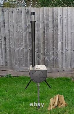 Dwd Outdoor Camping Camp Fire Wood Burner Stove With Carry Bag Tent, Tipis Yurts