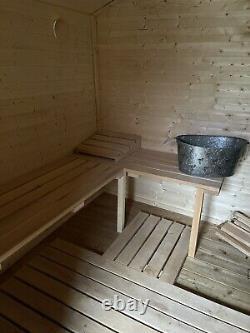 Extérieur Sauna Shed Jardin Sauna Bois Feu