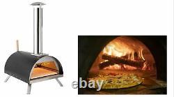 Four À Pizza Au Bois, Qualité Supérieure, Portable, Dessus De Table, Four Extérieur