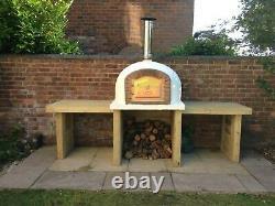Four À Pizza Au Feu De Bois Brick Bread Oven Outdoor 1100mm Fours Amigo