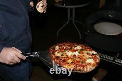 Four À Pizza Extérieur Charbon Wood Fired Bundle, Pierre, Pelure Et Couverture Inclus