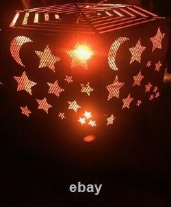 Foyer Hexagonal Star Et Moon Avec Grille Supérieure