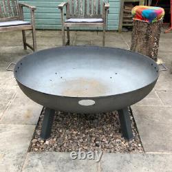 Grand Foyer De Jardin Extérieur Patio Camping Cast Iron Bowl Log Burner Heater Nouveau