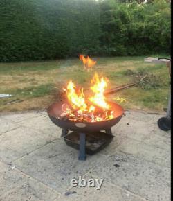 Grand Jardin Fire Patio Extérieur Camping Cast Iron Bowl Burner Heater