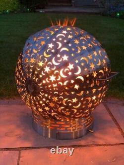 Jardin Firepit Ball Fireglobe Patio Extérieur / Foyer Brûleur De Bois