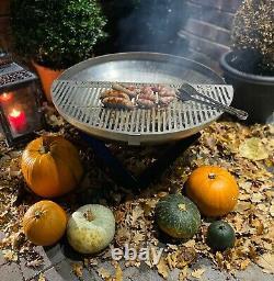 Nouveau Foyer Et Grille Outdoor Garden Bowl Patio Heater 60cm Bbq Log Burner