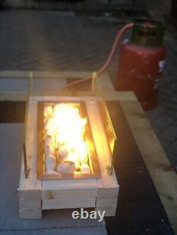 Poêle D'incendie À Gaz De Patio / Poitrine De Table Unique Élégant