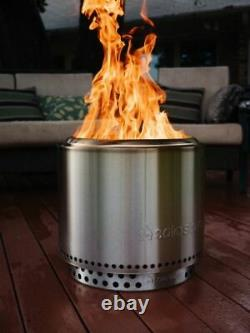 Poêle Solo Bonfire Jardin Firepit Firepit Avec Stand & Carry Bag