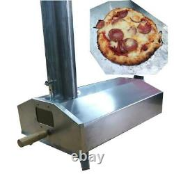 Portable Mini Wood Fired Pizza Four Pellet Charcoal Grill Outdoor Bbq Camping
