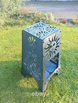 Premiumfire Pit Chimneasun Moon Patio Heater Main Fini Bois Charbon De Bois Bbq