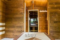 Sauna Finlandais De Luxe En Bois Extérieur À Louer Et À Vendre Saunas Exclusifs